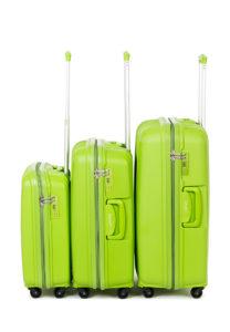 Пластиковые чемоданы