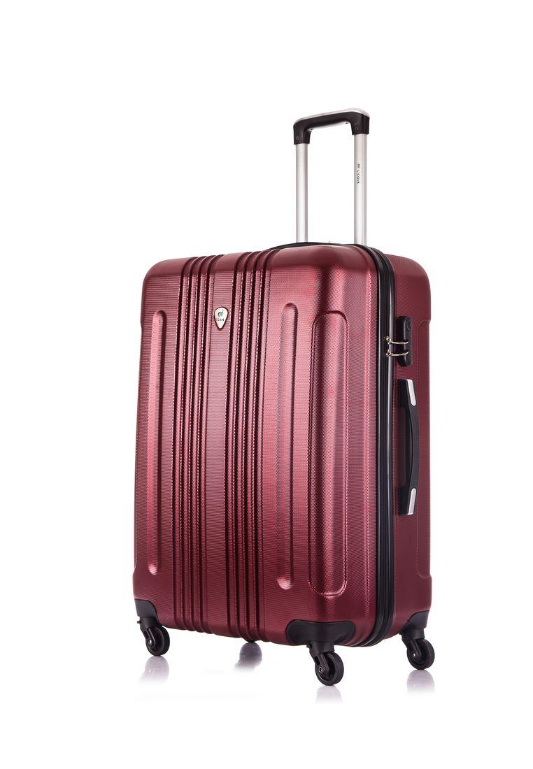 89d8559314d1 Пластиковый чемодан со съемными колёсами